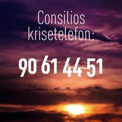 Consilio Kommunikasjons krisetelefon: 90614451